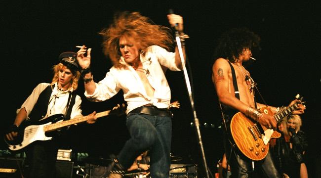 Guns n' Roses At LA Street Scene