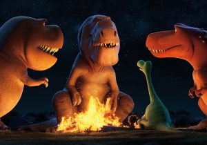 Get your T-rex fix with these new clips from Pixar's 'The Good Dinosaur'