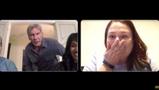 Harrison Ford Has Never Looked Happier Than When He's Surprising 'Star Wars' Fans For Charity