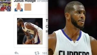 Julius Hodge Takes To Twitter With Joy After Hearing Of Chris Paul's Groin Injury