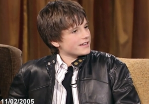 Watch An Adorable Josh Hutcherson On His First 'Jimmy Kimmel Live' Appearance