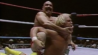 Hulk Hogan And The Iron Sheik Dressed Up As Each Other For Halloween