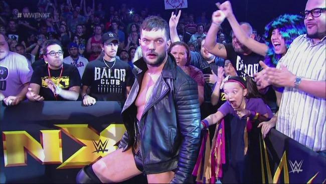 Izzy finn Balor NXT