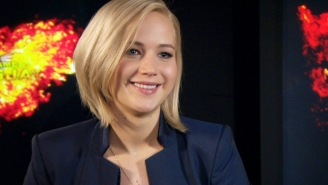 Jennifer Lawrence dishes on her diva 'Mockingjay' co-star: 'We had to be very gentle'