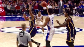 Jahlil Okafor Makes The Defense Look Silly In The Post With A Jordan-Esque Ball Fake