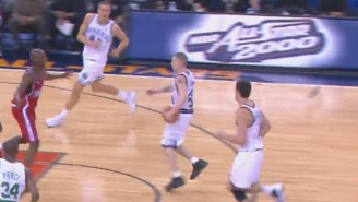 Watch This Awesome Highlight Reel Of Jason 'White Chocolate' Williams