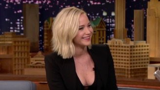 Jennifer Lawrence Shared Some Hilarious Awkward Moments On 'The Tonight Show'