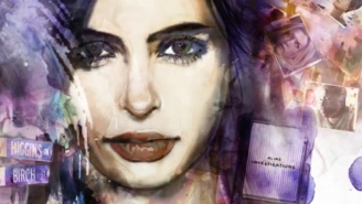 How does 'Jessica Jones' compare to 'The Flash' 'Daredevil' 'The Walking Dead' and the other comic book series?
