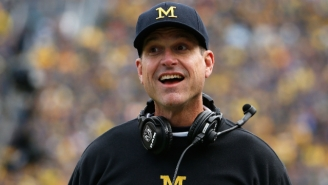 Lovable Weirdo Jim Harbaugh Wasn't All That Upset That 'The Simpsons' Made Fun Of Him