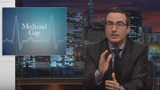 John Oliver Discusses The Horrid Nature Of The Medicaid Gap In America