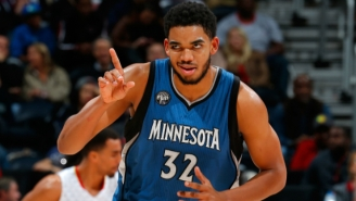 Award Watch: Karl-Anthony Towns Is Dominating The Rookie Of The Year Race So Far