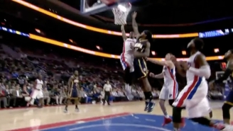 Kentavious Caldwell-Pope Put Jordan Hill On A Poster With This Nasty Rim-Rocker