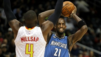 Kevin Garnett Was More Intense Than Ever During The Timberwolves' Dramatic Win Over The Hawks