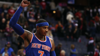 Carmelo Anthony's Big Night Was Fueled By Jared Dudley's Offseason Trash Talk
