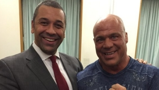 Kurt Angle Had Lunch With A British Politician, And Nobody Can Figure Out Why
