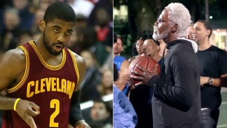 Kyrie Irving's Uncle Drew Is Back, And Taking On Old Man Ray Allen In H-O-R-S-E