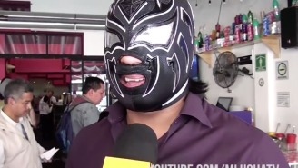 Meet WWE's Newest International Signing, CMLL And New Japan Star La Sombra