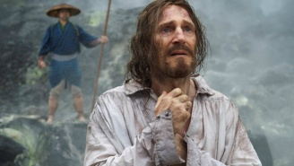 See The First Image Of Liam Neeson In Martin Scorsese's 'Silence'