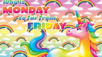 All Your Hot Pink Unicorn Rainbow Dreams Live On In Lisa Frank's Facebook Memes
