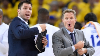 """Steve Kerr Defended Luke Walton's Lakers Coaching, Saying He's """"Cut Out For This Job"""""""