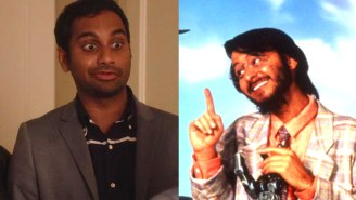 Aziz Ansari Called Fisher Stevens About His Brownface Role In 'Short Circuit 2'