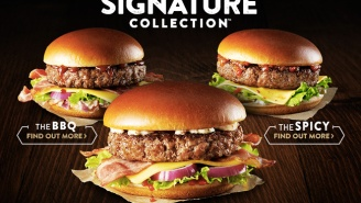 McDonald's Unveils A New Line Of Fancy 'Extra-Thick Gourmet Burgers'