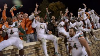 Miami Had A Great Response To The ACC Suspending Referees