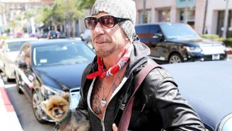 Mickey Rourke Says His Dog Kept Him From Committing Suicide