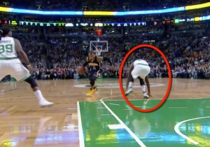 Monta Ellis Absolutely Buckles Amir Johnson's Knees With This Killer Crossover