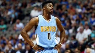 Emmanuel Mudiay Discredits His Supposed New Under Armour Logo That Looks Like A Nazi Swastika