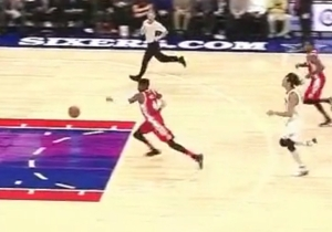 Nerlens Noel Will Definitely Appear On Shaqtin' A Fool After Bungling This Fast Break