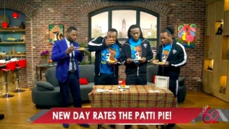 The New Day Went On A Morning Show And Reviewed Patti's Pies Because New Day Rocks