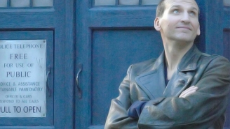 Steven Moffat on what was up with Christopher Eccleston's absence in 'Day of the Doctor'