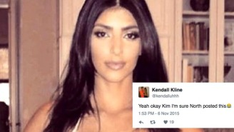 Kim Kardashian's 'North Posted This' Photo Shows The Swift Power Of An Internet Meme