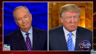 Bill O'Reilly Tried To Counsel Donald Trump Over Refugees And ISIS, And It Did Not Go Well