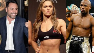 Floyd Mayweather And Oscar De La Hoya Go At It Over Cocaine And Ronda Rousey