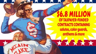 U.S. Senators Are Taking On The Military Paying Pro Sports Teams For Patriotism