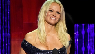 Pamela Anderson Celebrated Being Cured Of Hepatitis C By Posting A Half-Nude Picture On Instagram