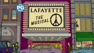 'The Simpsons' Included A Fine And Fitting Tribute To The City Of Paris