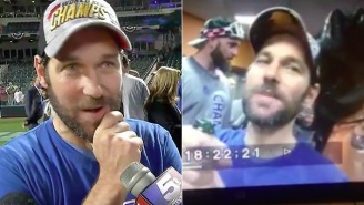 Royals Superfan Paul Rudd Joined In On The Team's Champagne-Spraying Celebration
