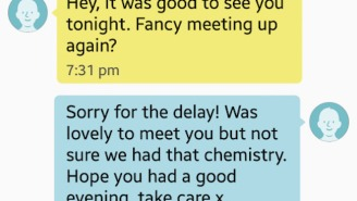This Man's Awful Reaction To Being Rejected Will Make You Feel Better About All Your First Date Mistakes