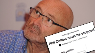 Over 3,000 People Have Signed A Petition To Stop Phil Collins From Returning To Music