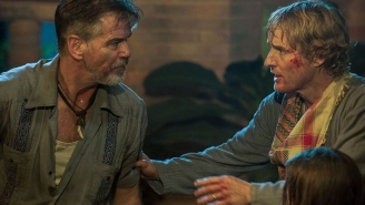 Watch a brutal Pierce Brosnan moment in this deleted scene from 'No Escape'