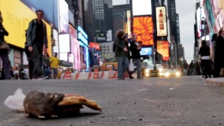 New Yorkers Were Fooled With This Fake Pizza Rat Prank