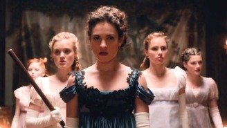 Check Out Even More Zombie Slaying In The New Trailer For 'Pride And Prejudice And Zombies'