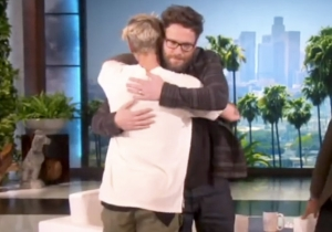 Seth Rogen And Justin Bieber Finally End Their Bitter Feud And Hug It Out Like Bros