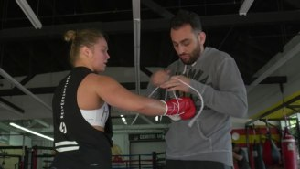 There Are Some Strange Things Going On With Ronda Rousey's Coach And A Reported Bankruptcy