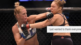 Ronda Rousey Finally Speaks After Her Devastating Loss To Holly Holm
