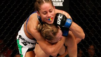 Watch The Closest Ronda Rousey Has Come To Defeat In An MMA Fight