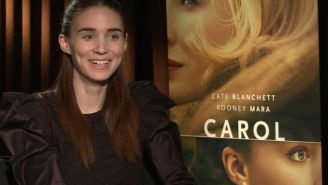 Rooney Mara changed her voice in 'Carol' to sound less 'jaded and ironic'